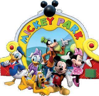Casa do Mickey Mouse da Disney - Kit Completo com molduras para convites, rótulos para guloseimas, lembrancinhas e imagens! - Fazendo a Minha Festa