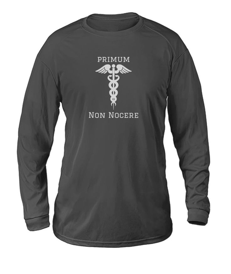 Primum Non Nocere Medical Long Sleeve Dry Sport Long-Sleeve