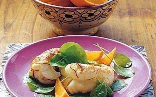 Astice con acetosa e salsa all'arancia. #ricette #cucina #astice #secondi
