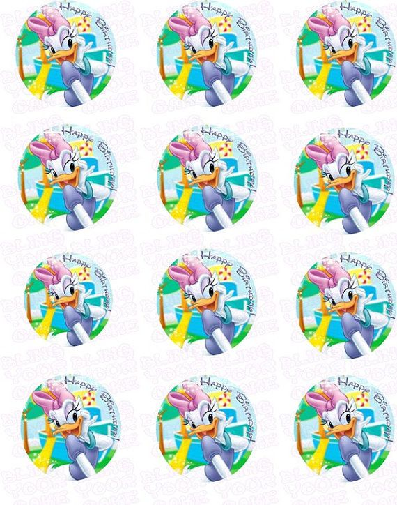 Hey, I found this really awesome Etsy listing at https://www.etsy.com/listing/187009928/disney-daisy-duck-inspired-edible-icing