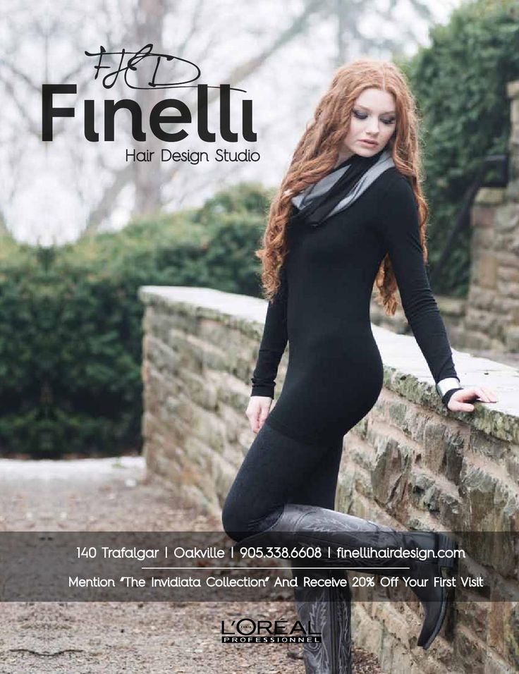 Finelli Hair Design Studio Jadan Designs 2013 Collection shoot Tara West Photography