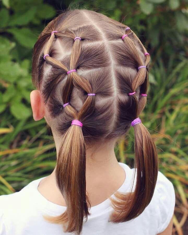 Peinados faciles de nina cabello corto
