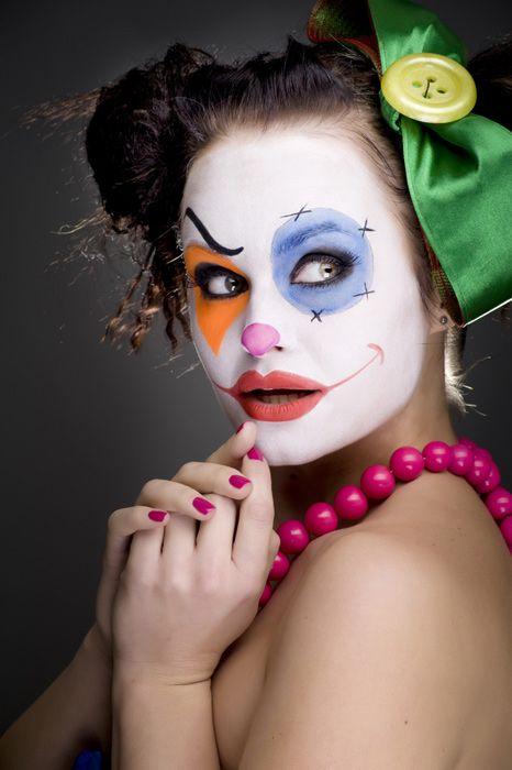 Foto trucchi strega maschere Carnevale Make up Joker - foto 11 di 11