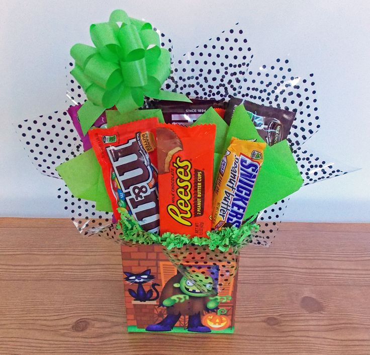 Happy Halloween Candy Bouquet for Kids!
