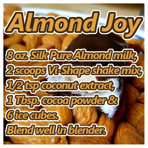 Almond Joy ViSalus Recipe