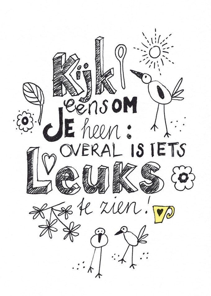 Happy card @flairnl - illustration VrolijkFabriek