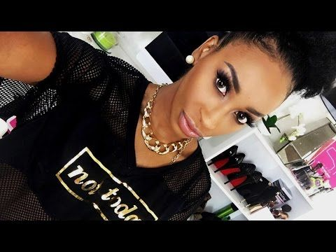 MAKEUP TUTORIAL FOR BEGINNERS | FLAWLESS SIMPLE BEAT | BLACK WOMEN - YouTube