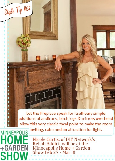 Nicole Curtisu0027s Tips On The Fireplace Decor. Find This Pin And More On Minneapolis  Home Shows ...