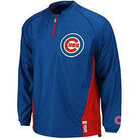 Get this Chicago Cubs Authentic Triple Peak Cool Base Gamer Jacket at ChicagoTeamStore.com