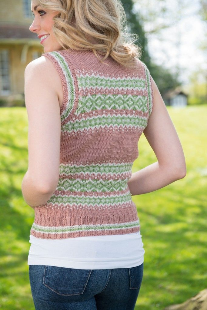 65 best fairisle vests images on Pinterest | Knitting, Stricken ...