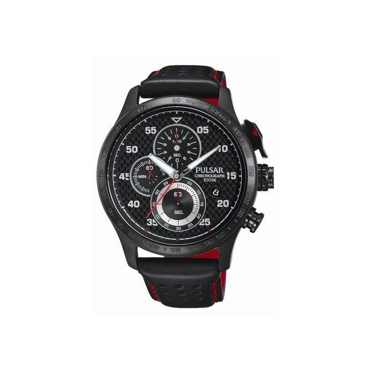 Pulsar PM3043X1 to sportowy chronograf, przeznaczony dla mężczyzn prowadzących aktywny tryb życia. Zegarek ten posiada bardzo dokładny mechanizm kwarcowy ze stoperem i datownikiem wskazującym dzień miesiąca. #zegarek #zegarki #pulsar #seiko #timetrnd