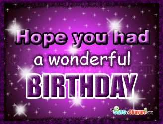 Sorry I Am Late Birthday