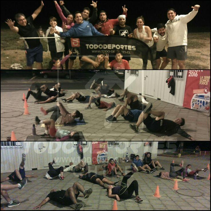[RUNNING ] Nuestros TD-Runners comenzando la semana de la mejor manera!!   Felicitaciones y bienvenidos a los que se integran.   ¿Y TÚ, QUE ESPERAS PARA SUMARTE?  No corras solo, corre con nosotros!!  #TodoDeportesChile  #LosdelMonitoCorriendo #TDRUNNERS   #AquaAlcalina #Altrarunning #Compressport #Newline #Fuxion