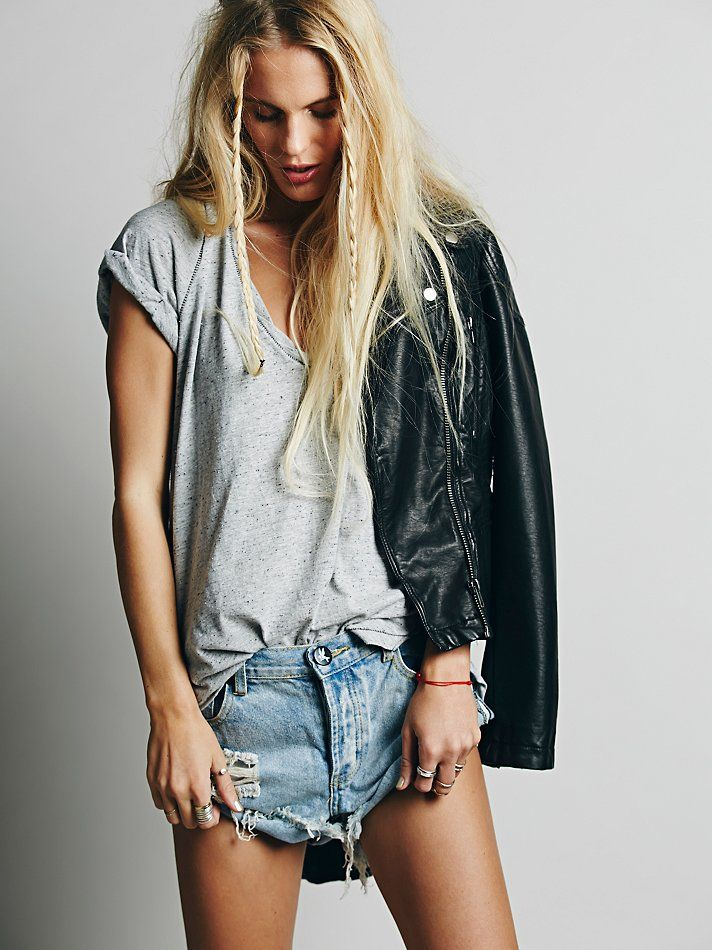 We The Free Saturday Tee at Free People Clothing Boutique