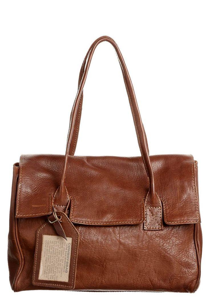 Cowboysbelt - SHEFFIELD - Handtasche - cognac