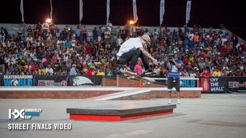 Kimberley Diamond Cup 2015 Finals: Nyjah Vs. Luan | TransWorld SKATEboarding - http://DAILYSKATETUBE.COM/kimberley-diamond-cup-2015-finals-nyjah-vs-luan-transworld-skateboarding/ - This year's Kimberley Diamond Cup boiled down to a five-minute, head-to-head finals with Luan Oliveira and Nyjah Huston. It was insane. Video / PEASE Follow TWS for the latest: Daily videos, photos and more: http://skateboarding.transworld.net/ Like TransWorld SKATEboarding on Facebook: - 2015, dia
