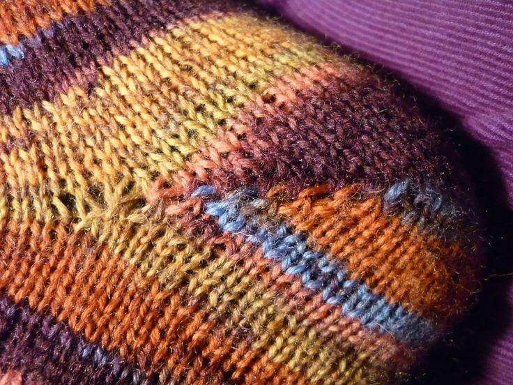 Tricotar os calcanhares de meias - malha de paixão e outros passatempos frívolos