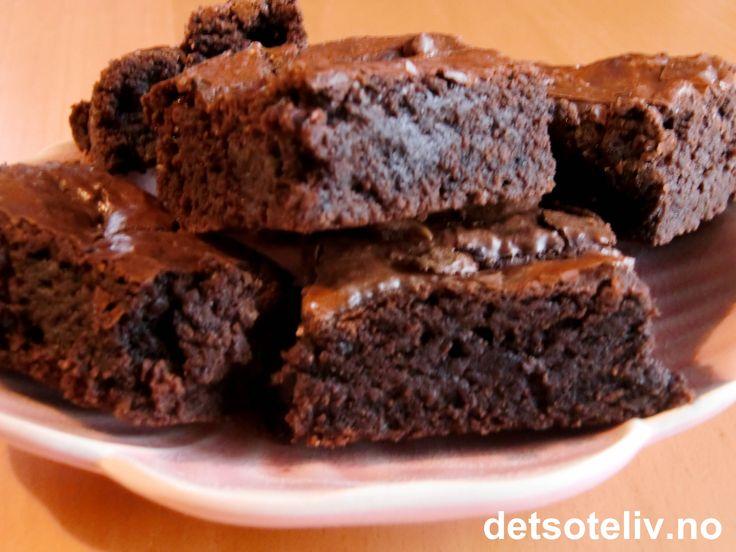 God & enkel brownies