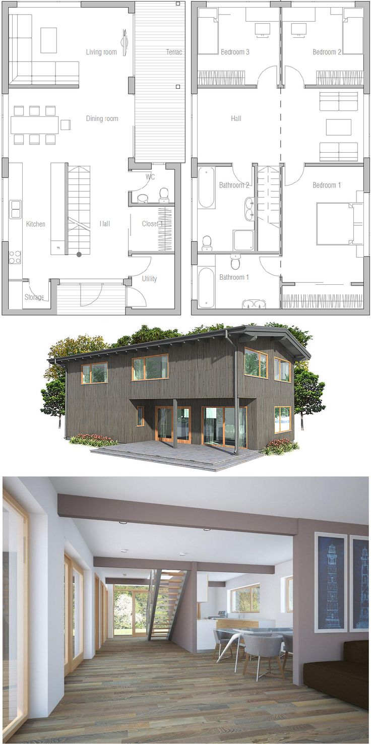 162 best home plans images on pinterest architecture small
