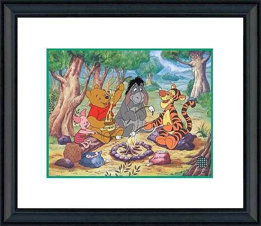 Winnie the Pooh - Campfire Pals - Walt Disney Art Classics - World-Wide-Art.com - #Disney #WinniethePooh