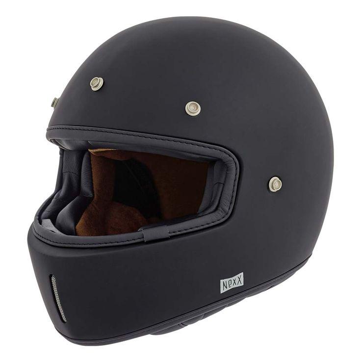 Full Face Motorcycle Helmets : Nexx XG100 Purist Helmet - Black MT Full - The Cafe Racer