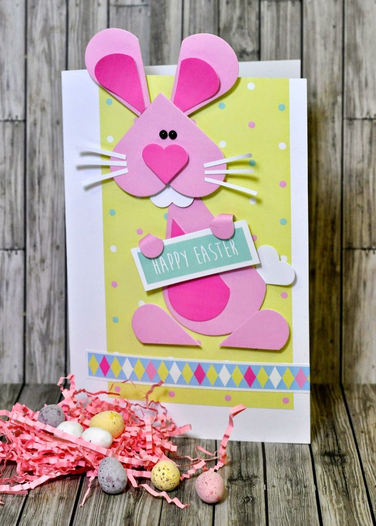 Easter Bunny | Pete Hughes for Sizzix UK Blog