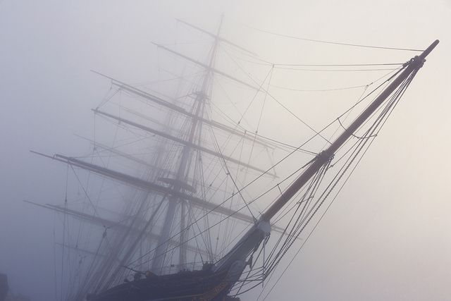 Photographs Of A Foggy London By Albert Zhang | Londonist