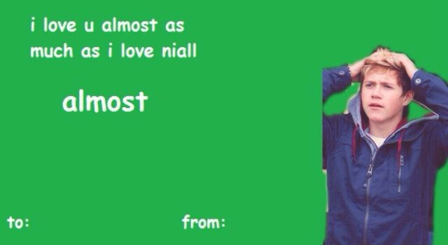 One Direction Valentines Cards Tumblr
