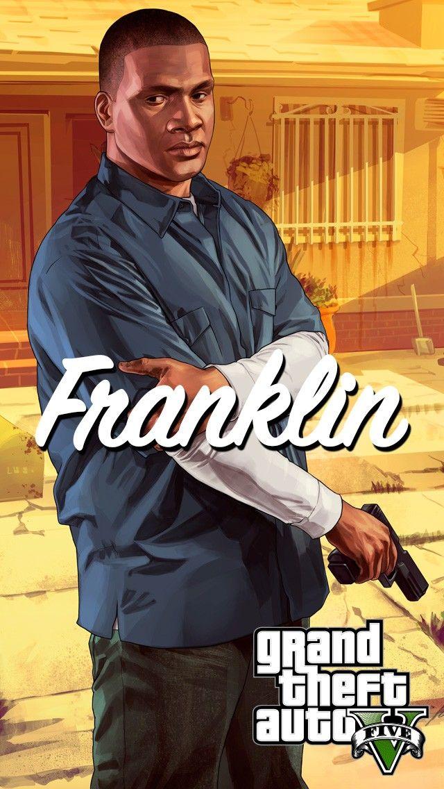 Gta 5 Franklin With Glock Ios 11 Iphone X Wallpaper Hd Gta Art