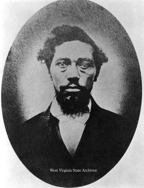 This is the actual man on which the movie D'Jango is loosely based.  His name is Dangerfield Newby, and he was a member of the John Brown party . He joined to save his wife and children, Harriet. Their love story was real, and you all should check out their narrative and love letters.  http://www.lva.virginia.gov/public/trailblazers/2009/honoree.asp?bio=1