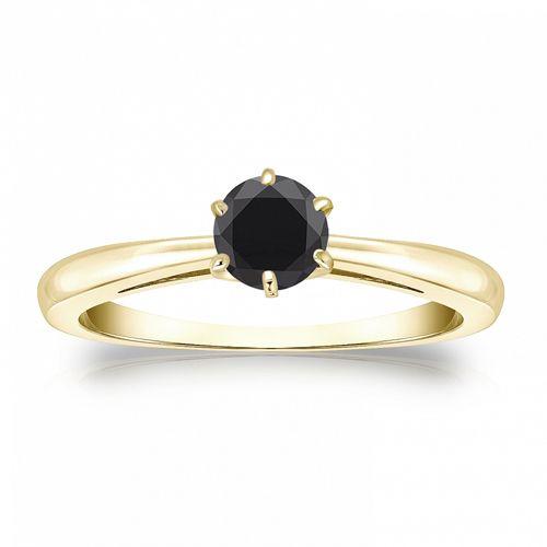 Diamantring verlobung gold  Die besten 20+ Schwarzer diamant verlobung Ideen auf Pinterest ...