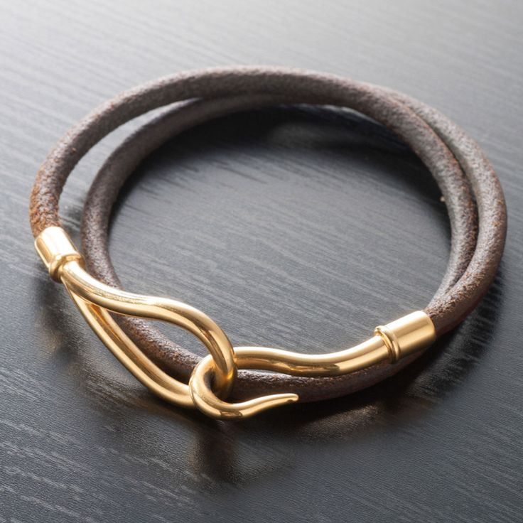 Hermes Bangle In Charcoal