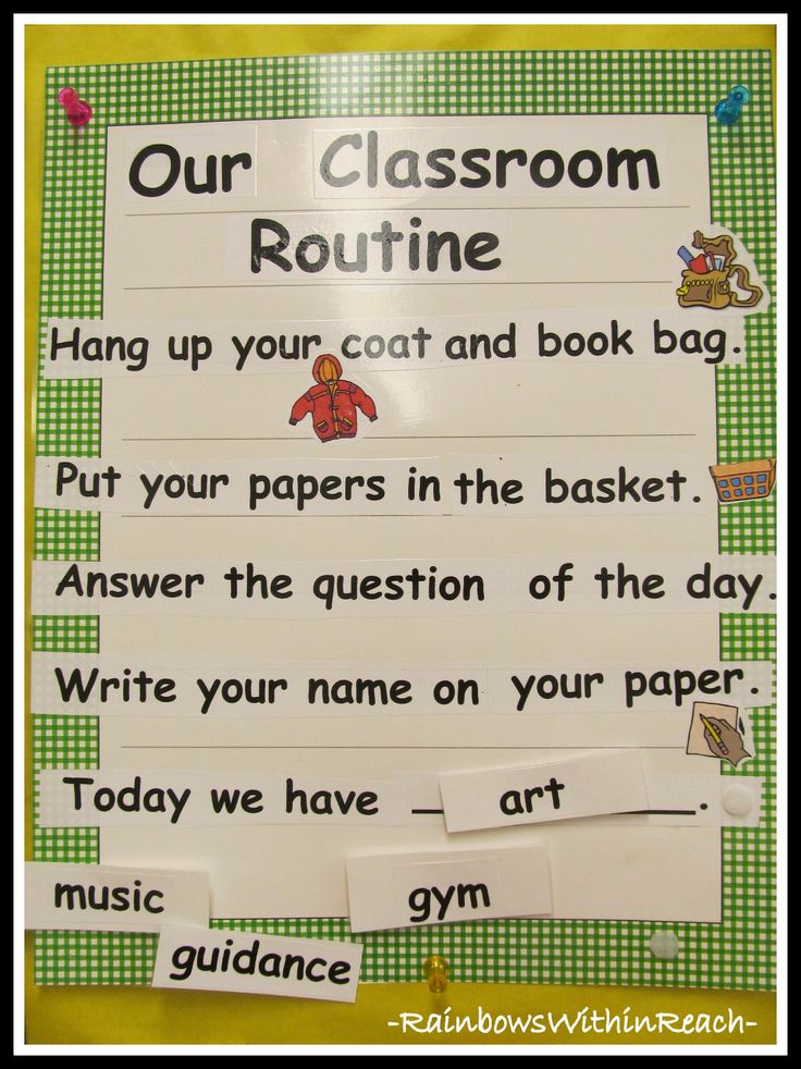 Classroom Routine Ideas ~ Best early childhood rules routines images on pinterest