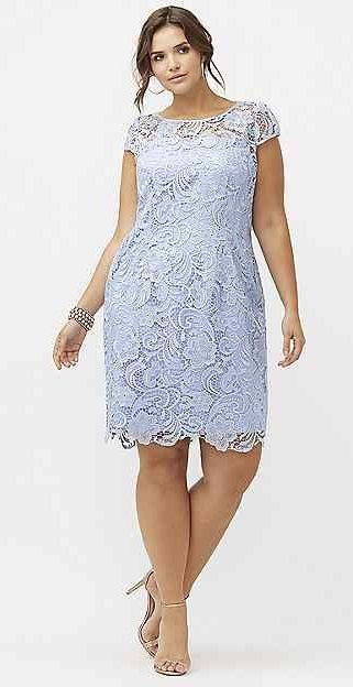 Plus Size Lace Dress