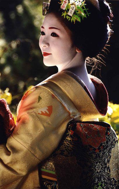 Maiko 舞妓 Geisha Apprentice