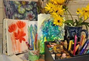 Textile Painter Bren Boardman's Sketchbooks