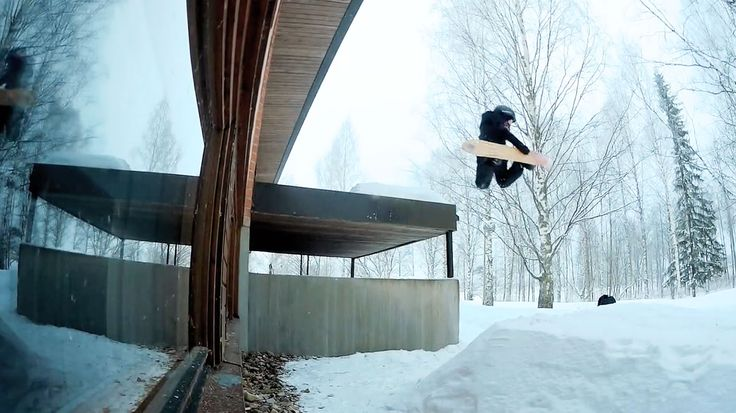 """Anniina Perhovaara – Street edit 2017 from Anniina Perhovaara on Vimeo. The mini shred, Anniina Perhovaara is at it again making us say """"awe"""" and """"damn"""" all at the same time. So much style and creativity in this chica's snowboarding and she has no problem with showing it off. From park to street shots, …"""