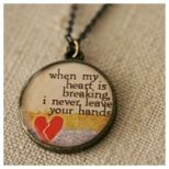 Want this one too!!  Goes with my new fav song <3Hands, Beautiful Songs, My Heart, Lyrics, Favorite, Heller Handmade, Jj Heller, Heavens, Handmade Necklaces