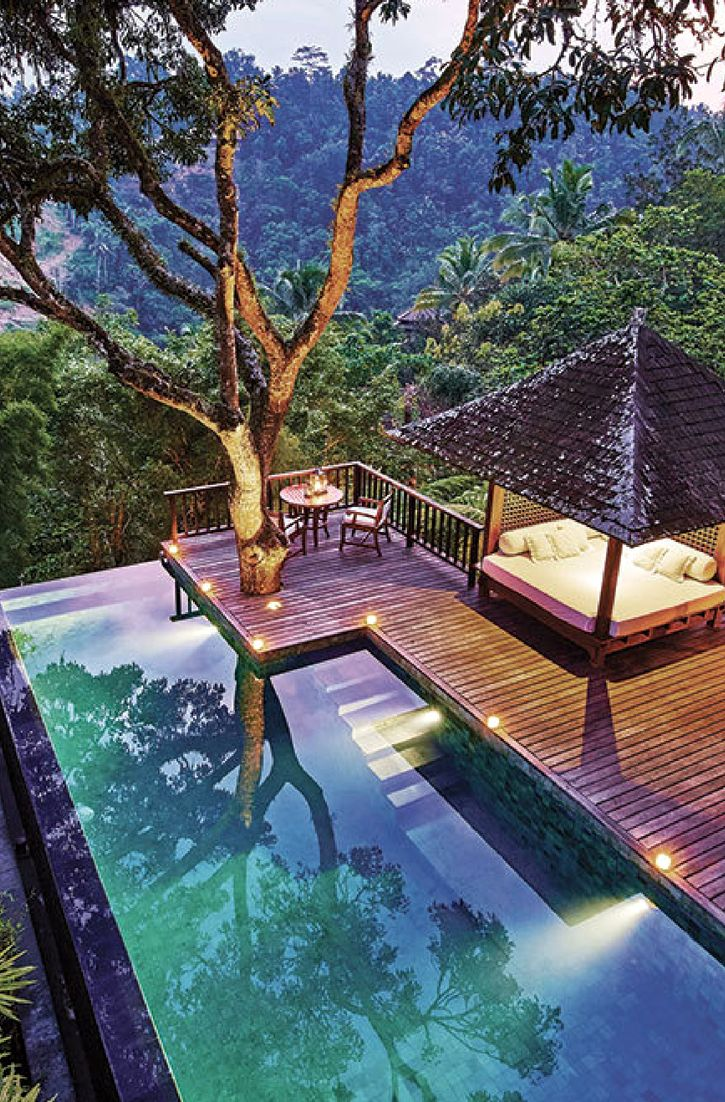 Indonesia Rainforest Escape Two Week Itinerary Hideaway Report Dream Pools Beautiful Pools Outdoor