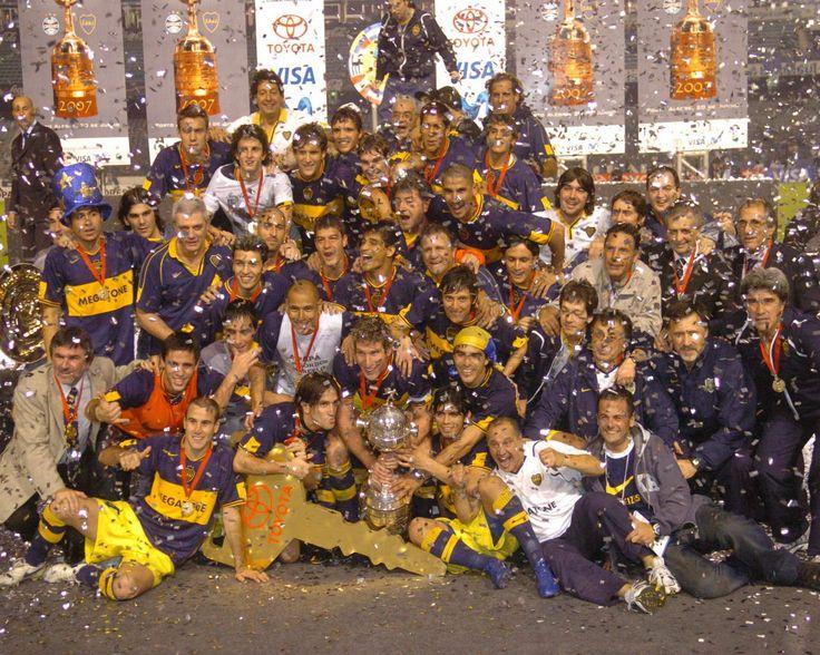 Final Libertadores 2007 vs Gremio