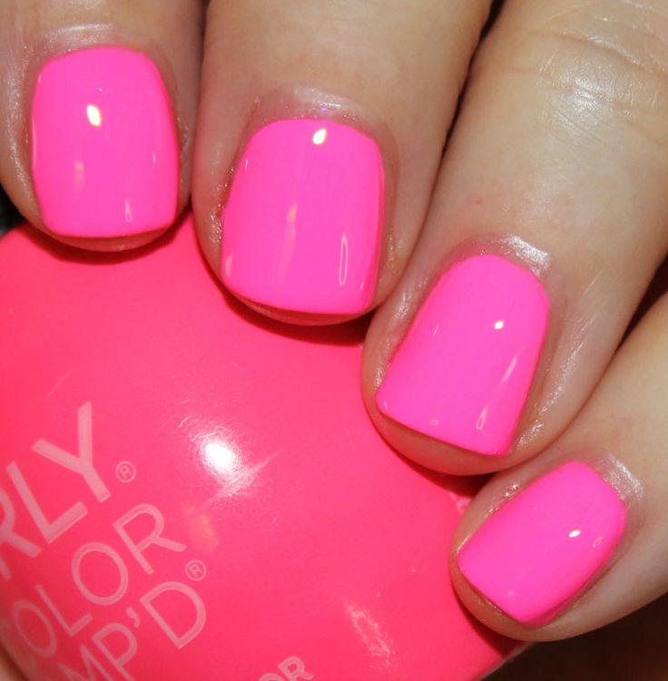 Orly - La Selfie is an uber intense pink neon.