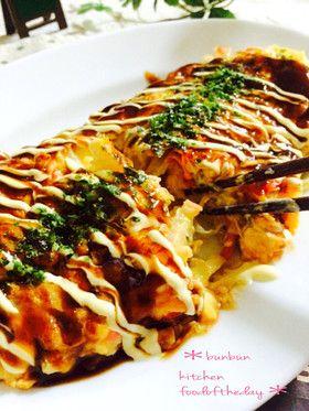 キャベツと卵でふわとろチーズもんじゃ風♡ by ハナたな [クックパッド] 簡単おいしいみんなのレシピが244万品
