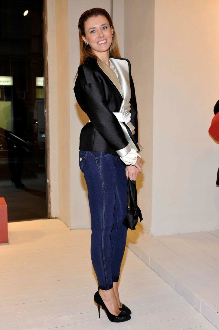 Elena Barolo at WR.UP® Denim official launch in Milano c/o Freddy Store.