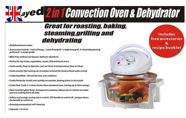 Food Dehydrator For Sale: Heat food 3 times faster, Saves up to 60% more energy than standard ovens