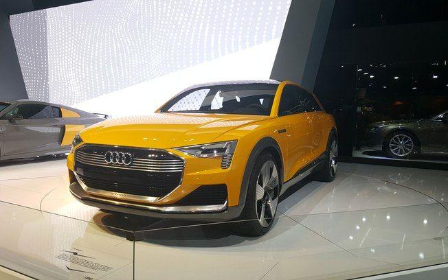 Audi H-Tron Concept. Foto: Nicolas Tavares/iG Carros