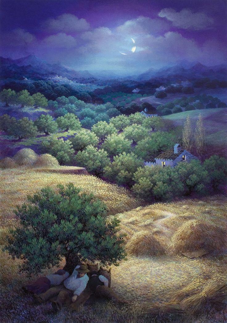 Night in the Era - by Luis Romero