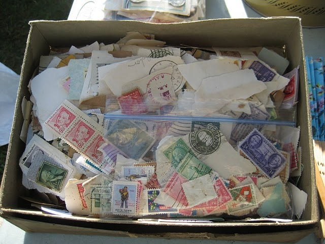 Love Nice Boxes, Treasure, Stamps Collection, Postage Stamps