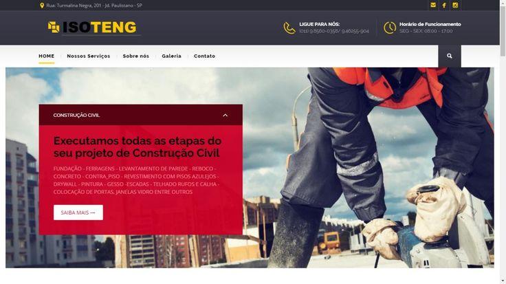Isoteng Serviços industriais foi um dos sites desenvolvidos pela Offweb.com.br. Foi Feito em 12 dias, com conteúdo unico e totalmente otimizado para o Google. Possui 21 páginas contendo Home Page, Página de Serviços, Galeria, Contato e Localização. Foram construídos para o site 5 Slides com...