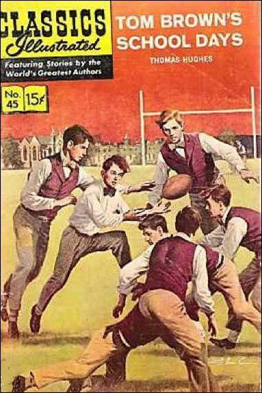 classics illustrated comics | Classic Comics/Classics Illustrated 45 D, Mar 1961 Comic Book by ...