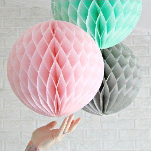 Бумажные шары-соты 30 см